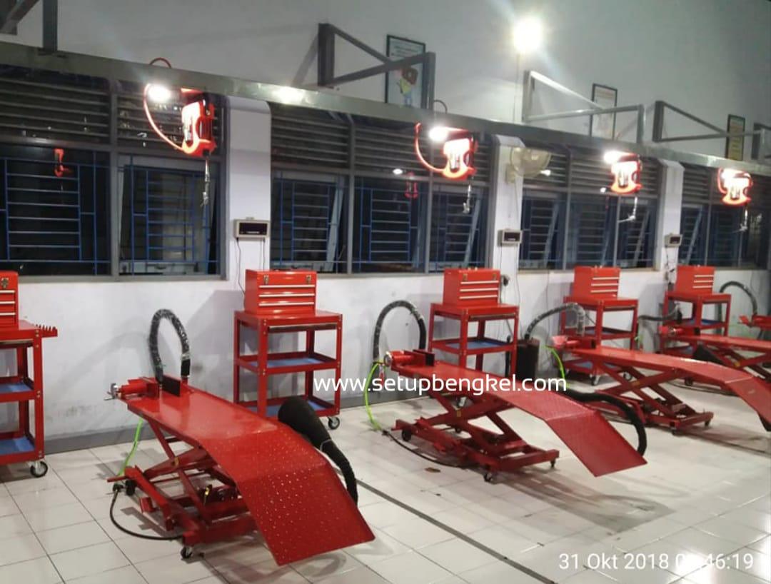 Set Up Bengkel - SMK N 1 Pemalang